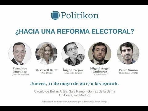 ¿Hacia una reforma electoral?