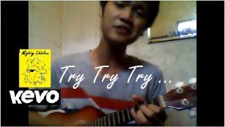 Jason Mraz 2018 'Try Try Try' (Amazing Ukulele Cover By Gita Gutabrak)