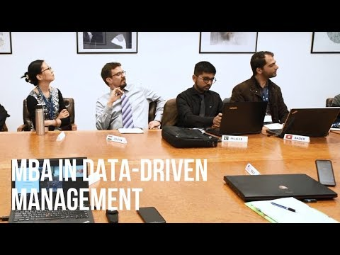MBA in Data-Driven Management programme at IBS