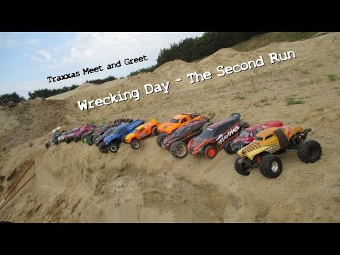 Traxxas Meet and Greet #5 Wrecking Day - The Second Run