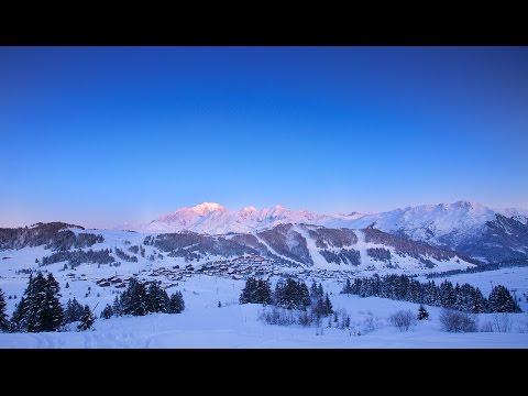 Espace Diamant, LE ski famille face au Mont Blanc 2015