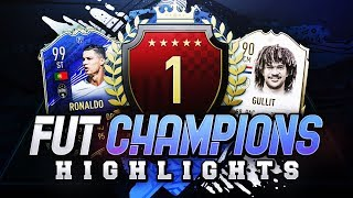 1ST IN THE WORLD! MY FUT CHAMPIONS HIGHLIGHTS! #FIFA20 Ultimate Team