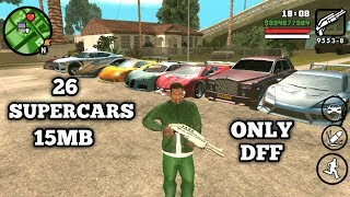 (15mb)DOWNLOAD AND INSTALL GTA 5 SUPERCARS IN GTA SAN ANDREAS