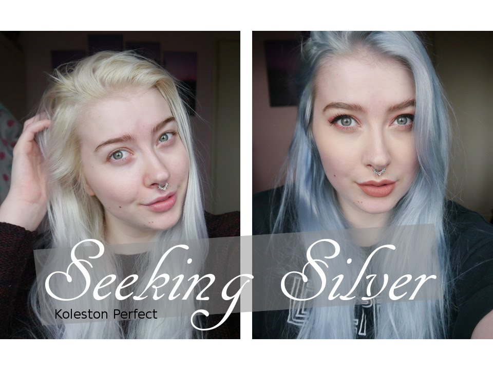 Seeking Silver Wella Koleston Perfect 0 81 Youtube
