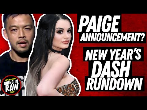 Paige To Make Career Announcement? NJPW New Year's Dash Results | News Brief