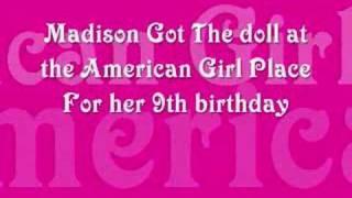 Madison Pettis Has An American Girl Doll!