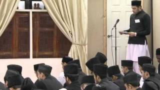 Jamia Class Ahmadiyya UK: 27th November 2010 (Part 1)