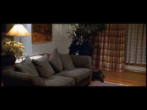scary movie 1 killer running down the stairs funny