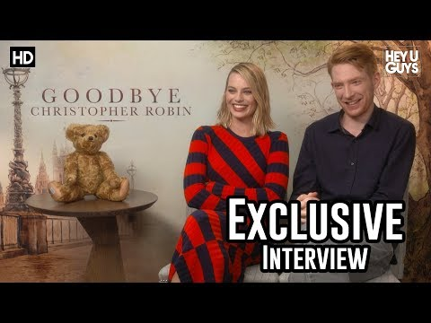 Domhnall Gleeson & Margot Robbie - Goodbye Christopher Robin Exclusive Interview