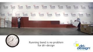 Dri-Design Wall Panels Install Fast