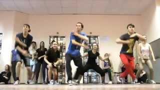 Школа танцев GRANDES. Связки с Открытых уроков: Hip-Hop (Евгений). House Dance. Hip-Hop (Алина)