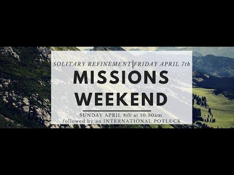 April 8, 2018 Missions Sunday at LEMC