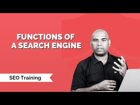 Functions of a search Engine | How Google works | Crawl, Index, Serve | SEO Training | KnowledgeHut