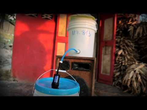 Clean Water Filter - Philemone Antoine - Haiti