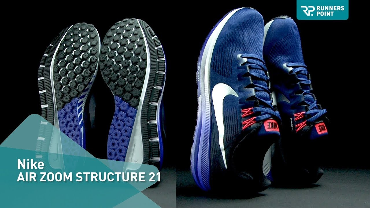 fc75a65a3f8b Nike AIR ZOOM STRUCTURE 21 - YouTube
