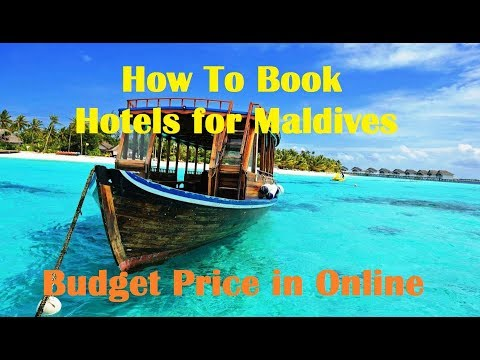 How To Book Hotels for Maldives in Budget Price Online ? Hindi Video