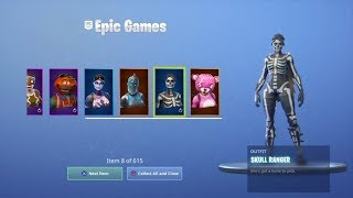 clover    Finally meŗged my Fortnite Account Over 600+ Items