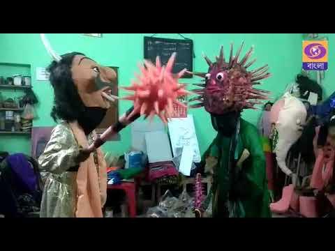 Puppeteer -- Corona Awareness