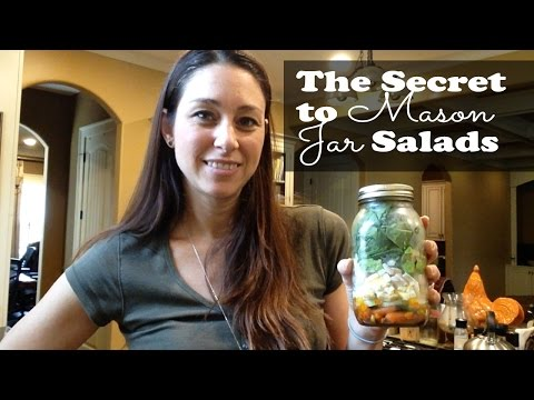 5 Easy, Quick Steps to creating Mason Jar Salads