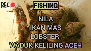 Download #fishing #wadukkeliling #fishingspot MANCING DARI MALAM SAMPE PAGI DI WADUK KELILING ACEH Mp3 and Videos