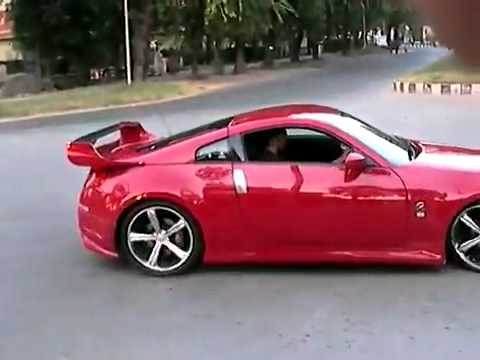 Nissan 350z Haciendo Drifting Youtube