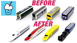VooV ブーブ 変身 Transform street vehicles for kids with Trains