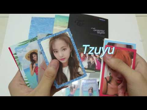 """Twice 2nd Special Album """"Summer Nights"""" (UNBOXING)"""