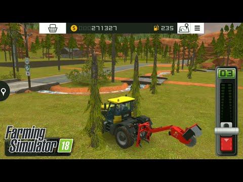 Fs18 farming simulator 18 - kestiğimiz ağaçları tekrar büyütmek / re-plant trees (to grow trees)