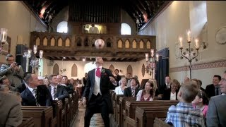 "Groom's Amazing Skills on Wedding Day - ""Aisle Freestyle"""