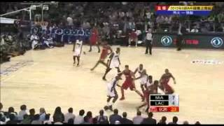 Miami heat vs L.A.Clippers Live Shanghai_1st-1_NBA China game 2012