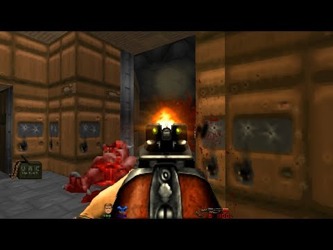Doom the Way id Did | E1M5: Engineering Bay [Brutal Doom v21
