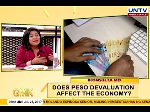 Does Peso Devaluation Affect The Economy? | Ikonsulta Mo