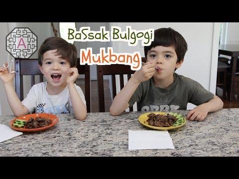 【Mukbang/Eating Show】 BaSsak Bulgogi (바싹 불고기 먹방)