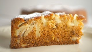 Царский яблочно-медовый пирог/Медовая яблочная шарлотка