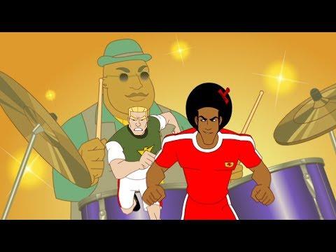 Supa Strikas - Season 3 - Ep 32 - Cool Joe Loses His Groove Pt. 2 - Soccer Adventure Series