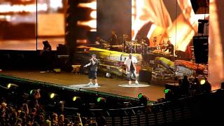 Eminem - Sing For the Moment & Like Toy Soldiers LIVE @ Home & Home Concert Yankee Stadium