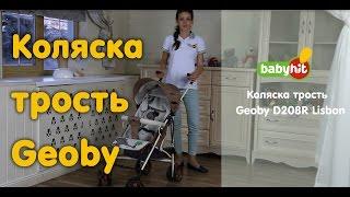 Коляска трость Geoby D208R Lisbon (Геоби Лисбон) обзор характеристик(Детская коляска-трость Geoby D208R это удобное и легкое решение вопроса приобретения детского транспорта. Коляс..., 2016-02-08T13:49:13.000Z)