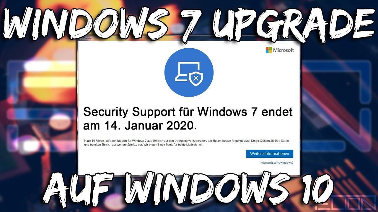 Windows 7 Auf Windows 10 Upgraden
