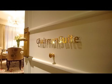 Hong Kong luxury hotel tour - Check out the Chairman Suite at The Langham
