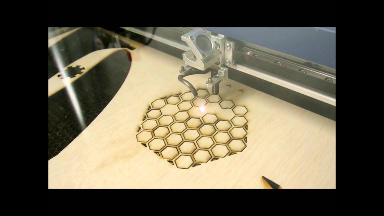 Epilog Helix Laser Cutting Amp Engraving Plywood Youtube