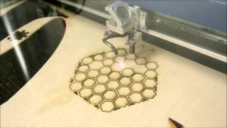 Epilog Helix Laser Cutting & Engraving Plywood