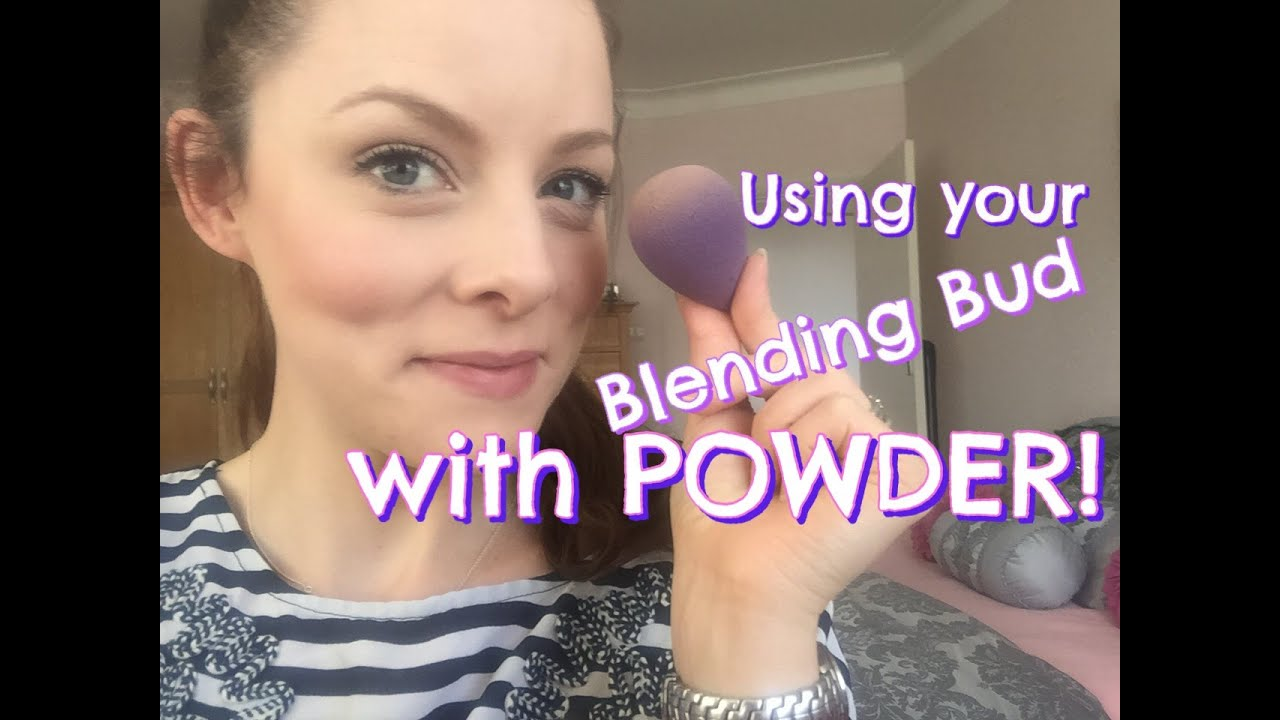 How to use your blending buds with powder makeup sponge tutorial how to use your blending buds with powder makeup sponge tutorial youniques blending buds youtube baditri Choice Image
