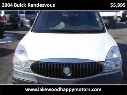 2004 buick rendezvous used cars lakewood co youtube for Happy motors inc lakewood co
