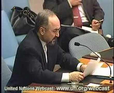 Iran Ambassador on Nuclear Issue to UN Security Council 4/4