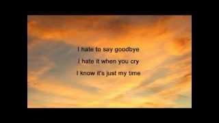 Energy Orchard - I Hate To Say Goodbye ( + lyrics 1995)
