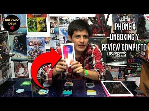 IPHONE X - Unboxing Y Review En Español (Perú)