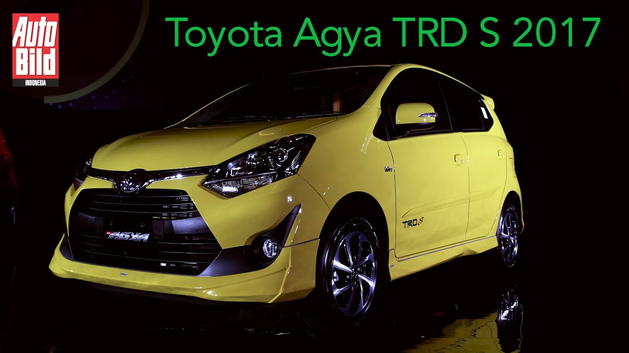 Toyota Agya TRD S 2017  First Impression  Auto Bild