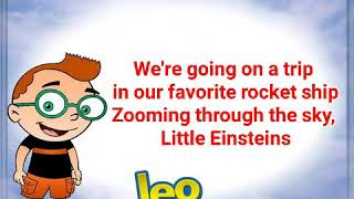 🎵The Little Einstein Theme Song Lyrics Cover