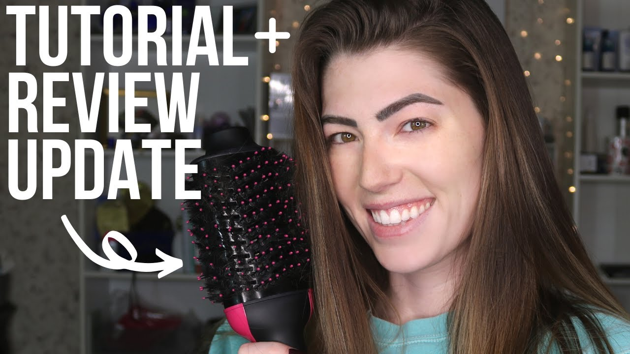 REVLON ONE STEP HAIR DRIER | 1.5 Year Review Update + Blowout Tutorial