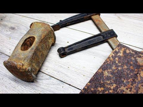 видео: НЕ ВЫБРАСЫВАЙТЕ СТАРЫЕ ИНСТРУМЕНТЫ/ Восстановление кучи полезных инструментов